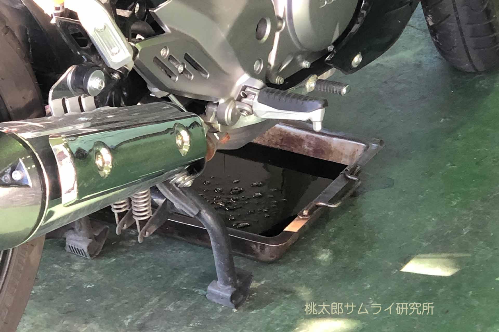 バイクのオイル交換の頻度